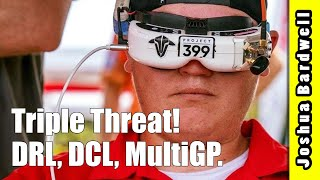 He races DCL, DRL, and MultiGP How does he prep? Alex Campbell Interview.