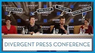 Divergent Chicago Press Conference | Shailene Woodley Movie (2014)