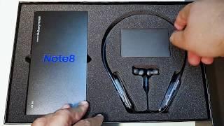 Galaxy Note 8 Flex Bundle Unboxing (Jordan) فتح صندوق جالاكسي نوت ٨ حزمة فليكس (الاردن) - dooclip.me