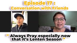 Conversation with Rey Bacani London, UK Episode 17