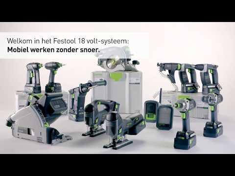 Festool TSC 55 Li REB-Basic accu invalzaagmachine