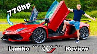 [carwow] Lamborghini Aventador SVJ review - 0-60mph, 1/4-mile & brake test!