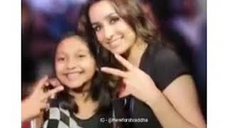 Cute little fan  with @shraddhakapoor  during the promotion of #Baaghi3 at #matrixfightnight i