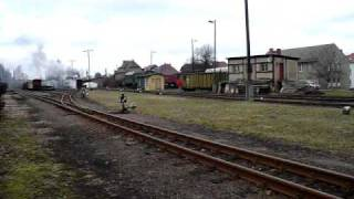 preview picture of video 'Wilder Robert Rettungszug am 19.03.2011'