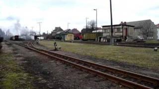 preview picture of video 'Wilder Robert Rettungszug am 19.03.2011'