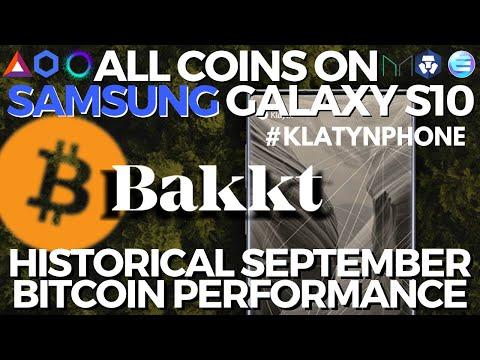 BAKKT Bitcoin Warehouse | Cryptocurrency on Samsung Galaxy S10 Blockchain Phone | $1 BILL BTC Moved