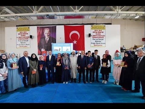 Diyanet İşleri Başkanı Erbaş, İmam Hatip Lisesi karne dağıtım törenine katıldı