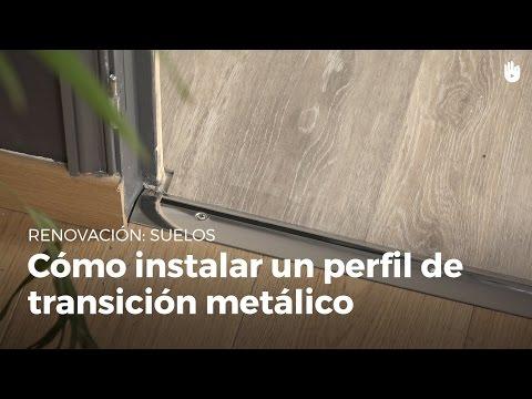 Aluminio anodizado: Colour blanco-plata - C-01 perfil de compensaci/ón de 40 mm que se adapta de perfil Perfil de transici/ón