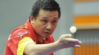 He Zhi Wen Vs Tao Wenzhang | 2018 Paddle Palace Hawkeye Open