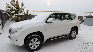 Первый снег! Тойота Ленд Крузер Прадо 2018, кому и зачем он нужен ?