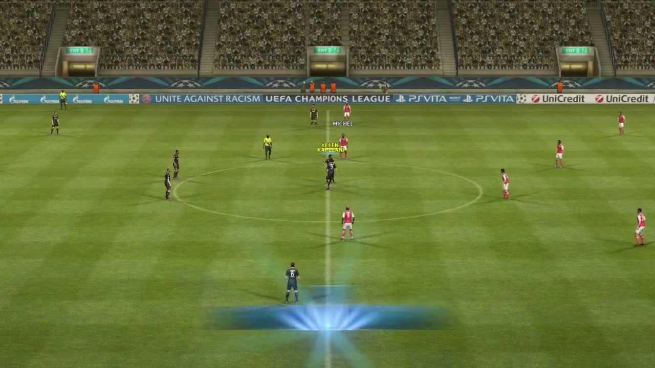 Lets Play PES 2013 #002 [DE][HD] - 2 gegen 1. Wer gewinnt?