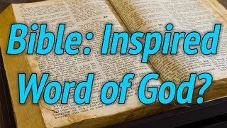 Is the Bible the