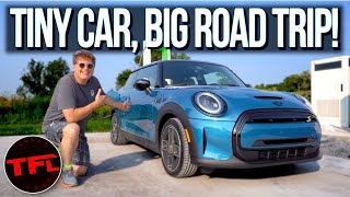 We Sold A Tesla Model Y & Bought The Cheapest New EV (MINI Cooper SE): Will It Road Trip?