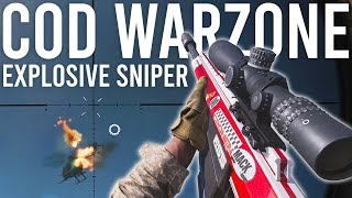 Call of Duty Warzone Explosive Sniper Rifle
