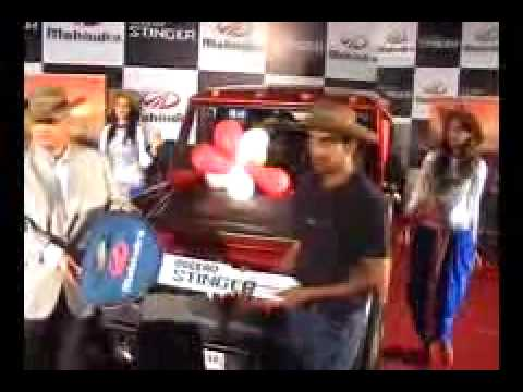 Mahindra Bolero Stinger for Gautam Gambhir