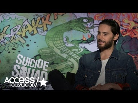 Jared Leto: Taking On The Joker In 'Suicide Squad' Was An Honor   Access Hollywood