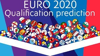 UEFA EURO 2020 Qualification Predictions Marble Race   55 Countries