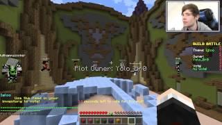 Minecraft | DERPY PENGUINS!! | Build Battle Minigame // DanTDM