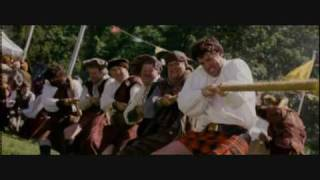 funny Highland Games clip from the film Maid of Honor