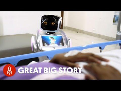 How Robots Are Revolutionizing COVID-19 Care
