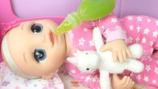 BABY ALIVE LAURINHA ROTINA DA MANHÃ PARA IR À CRECHE