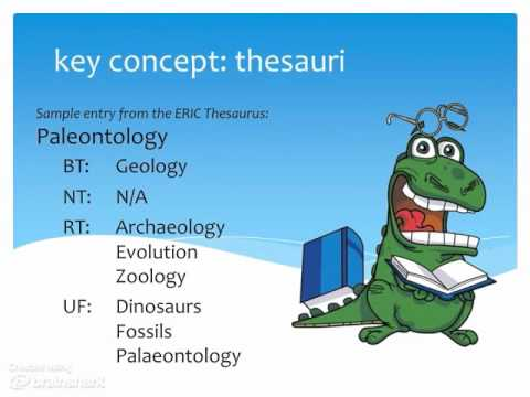 Key Concept: Thesauri