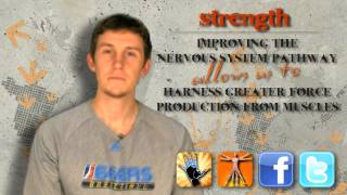 """""""How Can I INCREASE MY VERTICAL?"""" (Part 3 - Strength) -- Chase from ShotScience Basketball"""