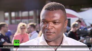 RT пообщался с чемпионом мира и Европы по футболу Марселем Десайи