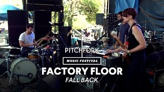 "Factory Floor perform ""Fall Back"" - Pitchfork Music Festival 2014"