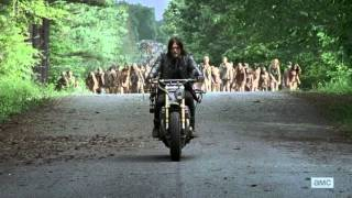 The Walking Dead Season 6 Ep 1 - Leading Zombies [HD] - First Time Again
