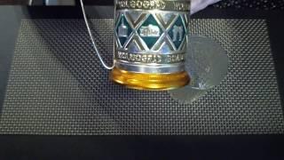 Советский подстаканник Волгоград и гранёный стакан Эпоха СССР Faceted glass USSR