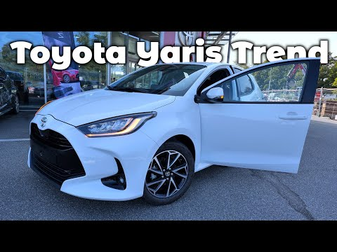 New Toyota Yaris Trend 2021 Full Review