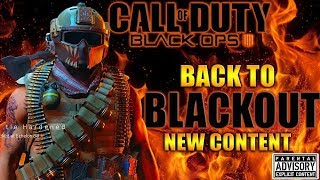New BO4 Update 1.22 😈 Solo BLACKOUT cause Multiplayer is Still TRASH