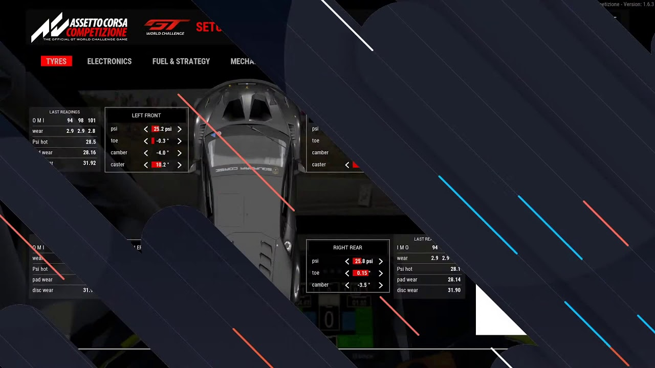 Aris.Drives: Aerodynamic and yaw rotation in AC Competizione