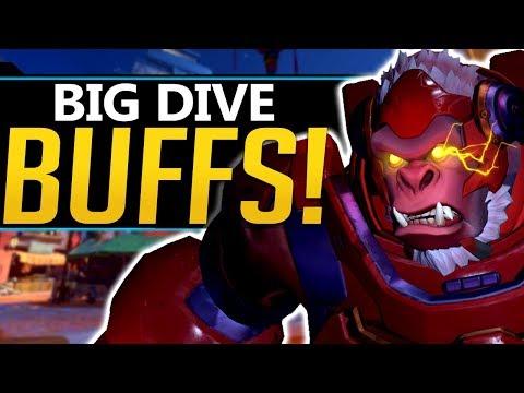 Overwatch Winston Tracer Buffs - Dive coming back?! Meta Breakdown