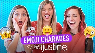 Hilarious EMOJI CHARADES with iJustine! Can You Beat Us???