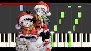 Feliz Navidad Piano tutorial midi sheet partitura cover villancico