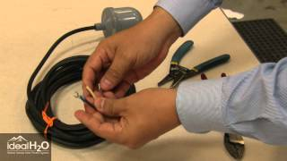 Ideal H2O - Professional Series - Float Switch Installation