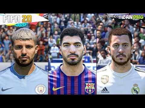 FIFA 20 | 80+ New Players FACES!! | Ft. Hazard, Agüero, Suarez...etc