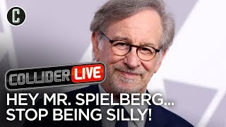 Spielberg Has Beef With Netflix Getting Oscars and That's Silly - Collider Live #84