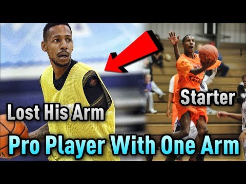 The PRO Basketball Player That Has ONLY ONE ARM!!