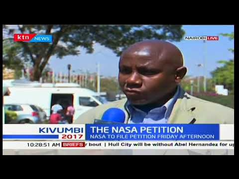 Presidential petition : NASA to file in petition Friday afternoon