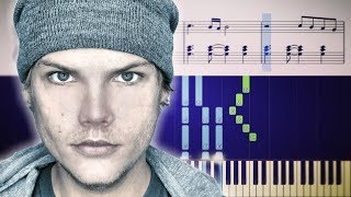 Avicii   Heaven (with Chris Martin)   Piano Tutorial + SHEETS