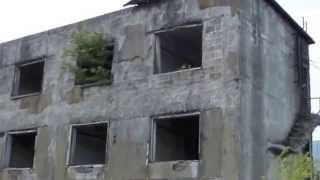 廃墟松尾鉱山跡岩手県八幡平市