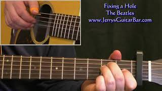 Fixing a Hole Intro Guitar Lesson