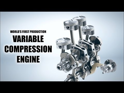 INFINITI Reinvents The Gasoline Engine — VC-Turbo (via Engineering Explained)