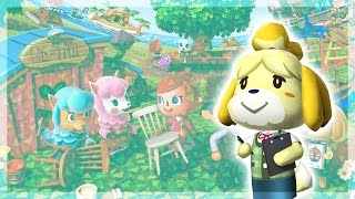 MARY ET MARIE A LA MAIRIE - ANIMAL CROSSING NEW LEAF #02