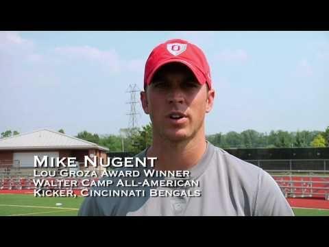 Cincinnati Bengal Kicker and Kicking Coach at Ray Guy Prokicker.com Kicking Camps