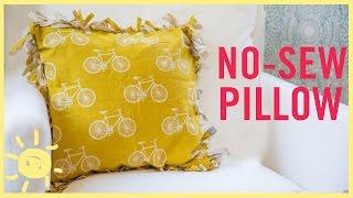 DIY | No-Sew Pillow