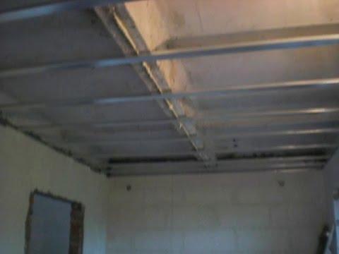 № 1 Подвесной потолок из гипсокартона своими руками. Часть первая (из трёх)